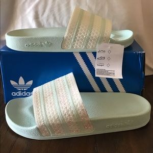 Adidas slides NWT and box